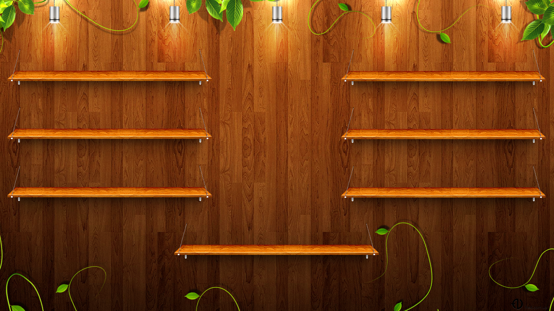 Wooden Desktop Wooden Shelves Wallpapers And Images Wallpapers