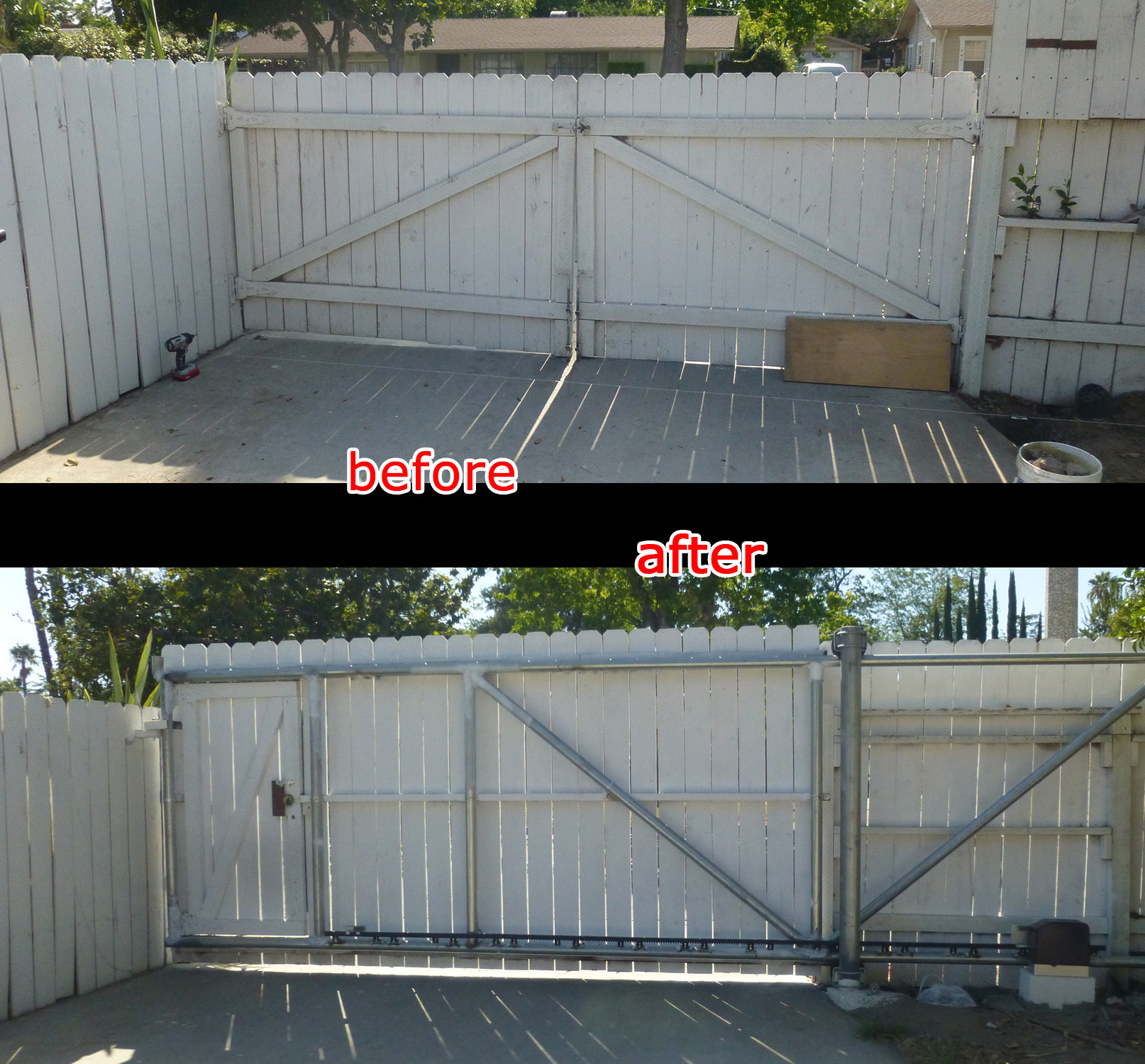 Diy Sliding Deck Gate Diy How To Build Your Own Cantilever Sliding Gate 1 Make A