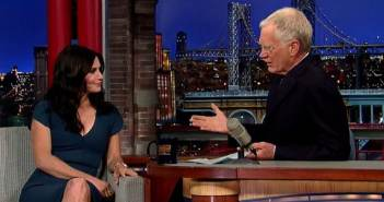 courteney cox david letterman
