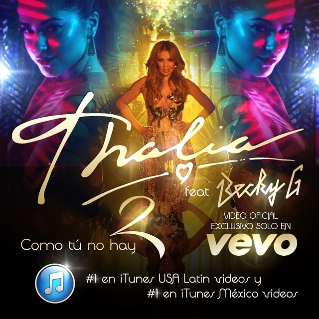 Thalía And Becky G Join Forces For \u0027Como Tú No Hay Dos\u0027 Music Video