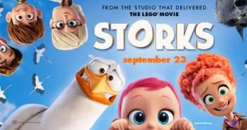 storks movie banner