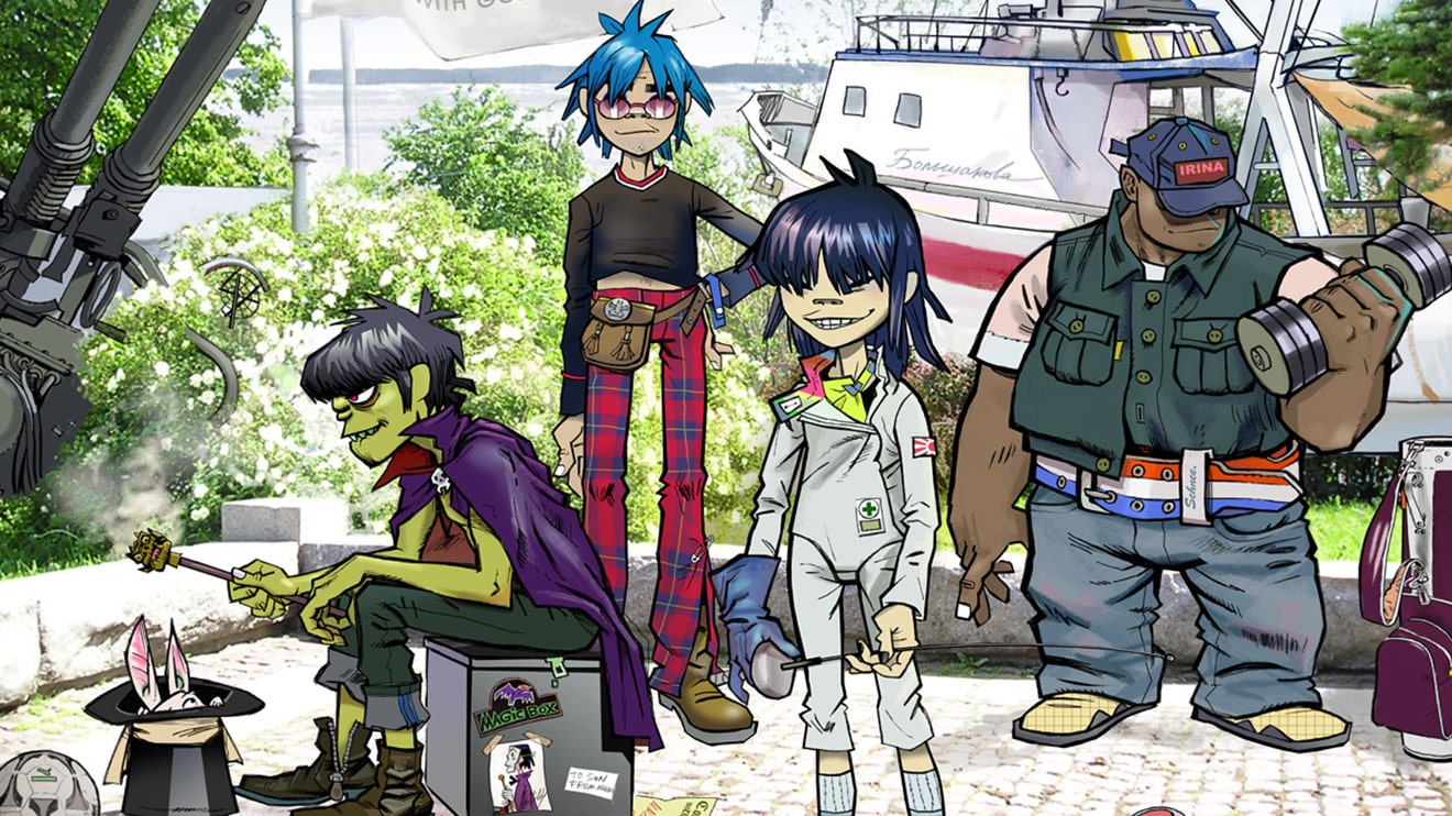 Gorillaz The Fall Wallpaper Uk Band Gorillaz Are Getting Their Own Animated Tv Show
