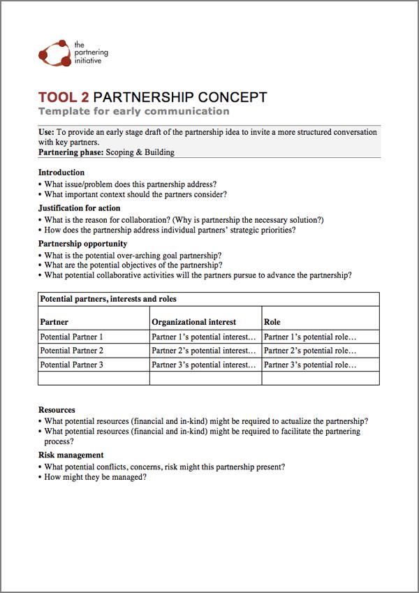 Zambia Partnering Tools \u2013 Zambia Business in Development Facility - organizational assessment template