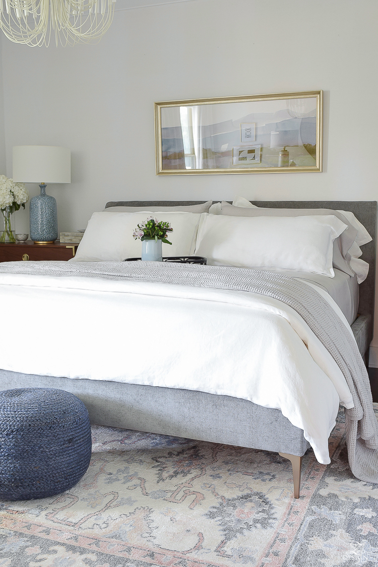 Best Sheets For Summer Snuggling Into Summer With The Best Breezy Relaxed Linen Bedding