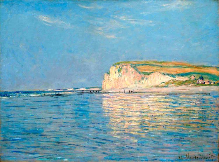 Claude Monet — Marée Basse Devant Pourville (1882)