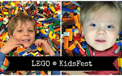 Fun at LEGO ® KidsFest! Review and photos from the fun and exciting event. #legokidsfest