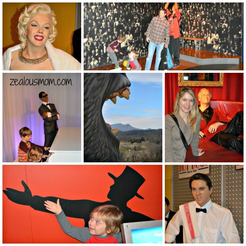 Hollywood Wax Museum-Pigeon Forge, TN. #Tennessee #familyfun #travel @zealousmom.com