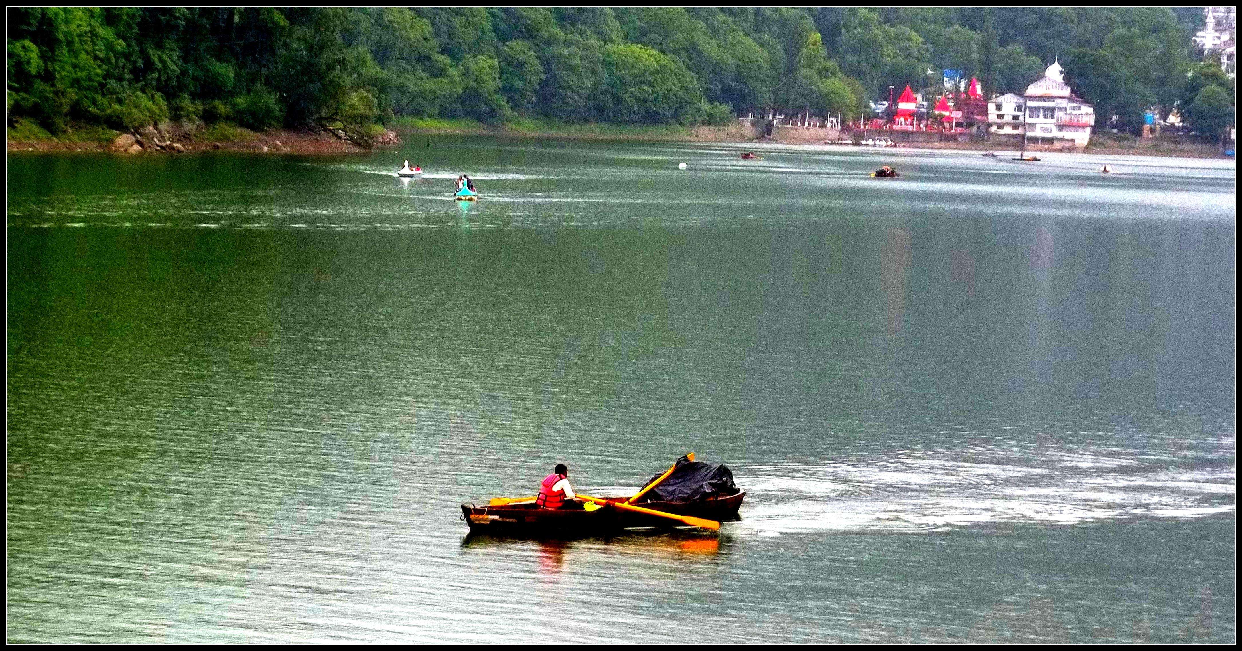 Hemant Name 3d Wallpaper Boating On Naini Lake Hemant Kandpal S Art