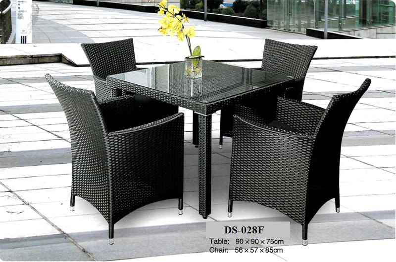 Wicker Outdoor Dining Chair Outdoor Rattan Chair Table