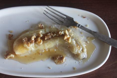 בננה ארוזה באורז לא מטוגנת אבל בטעם גן עדן