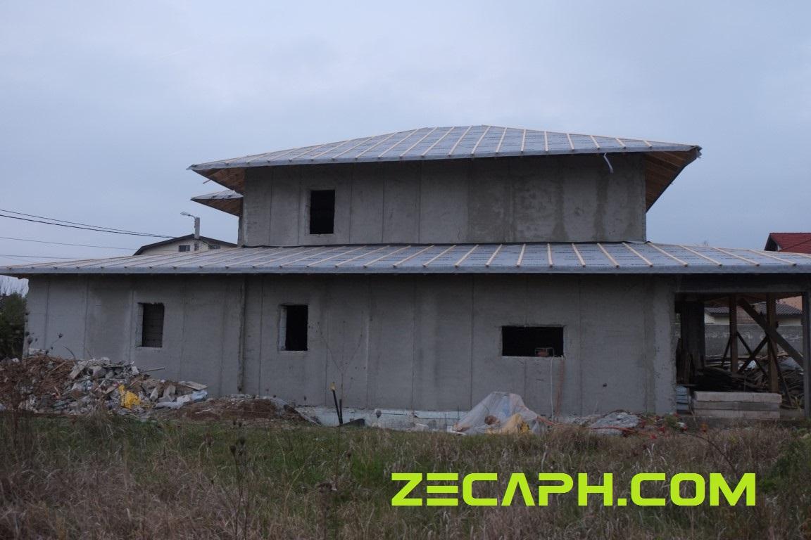Izolatie casa cu un consum redus de energie in pipera zecaph - Constructor de casas ...