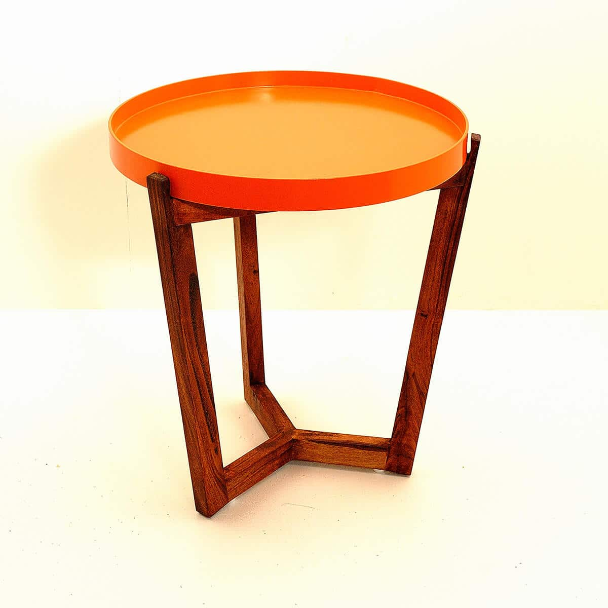 Table De Chavet Table De Chevet Kirsk Orange Baobab