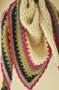 Really Easy Crochet Shawl: A Simple Granny Triangle
