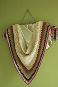 Really Easy Crochet Shawl: A Simple Granny Triangle ...