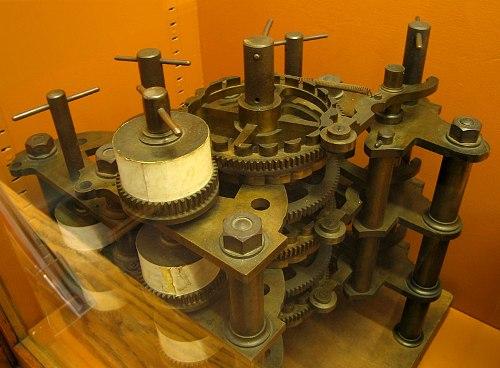 מנוע הפרשים של באבג' נבנה אחרי מותו מחלקים שהשאיר