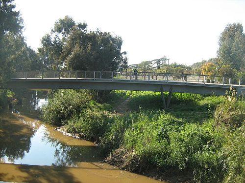 גשר כפר המכביה ויקיפדיה אורי