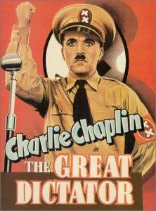 """צ'רלי צ'פלין ב""""הדיקטטור הגדול"""""""