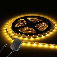 3528 5050 5M White/RGB 300SMD 12V LED Strip Home kitchen ...