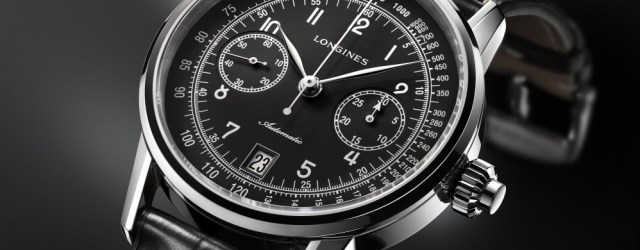 The Longines Column-Wheel Single Push-Piece Chronograph_L28004530_PR2