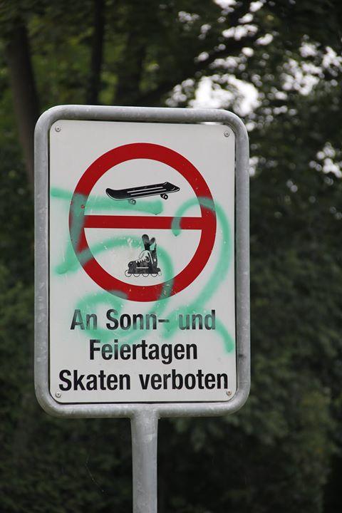 Skateverbot 52