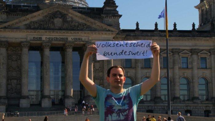 Die direkte Demokratie hat auch in Deutschland ihre Anhänger. (Bild: zVg)