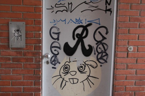 Baerwarts Gässli Graffiti