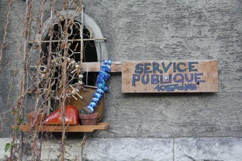 Inselstrasse Service publique