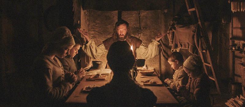 Williams Familie beim Gebet. (Bild: zVg)