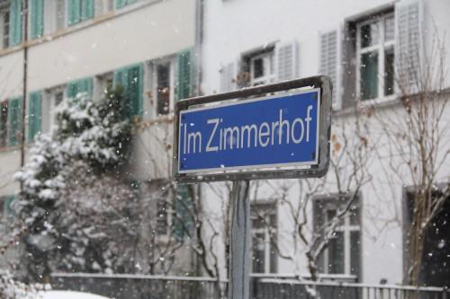 Im Zimmerhof_Strassenschild 2