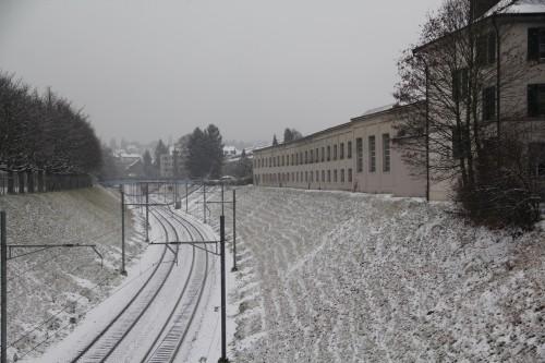 Morgartenring-Tramdepot und Elsässerbahn