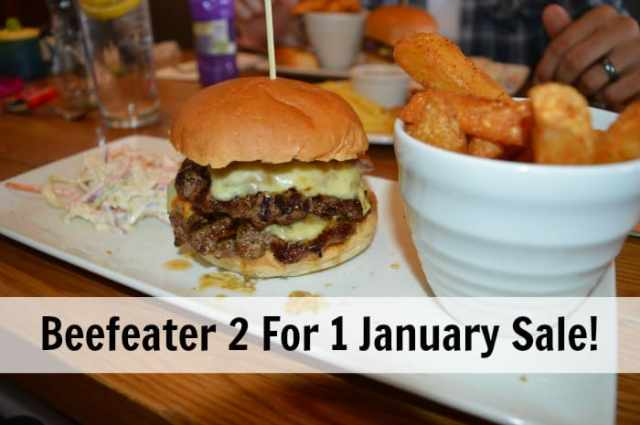 Beefeater 2 4 1 January Sale