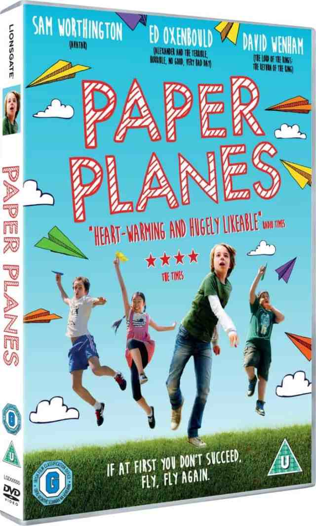 Paper Planes review and giveaway