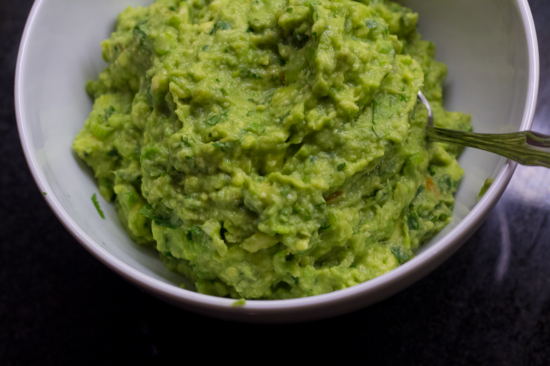 Never-Browns Guacamole