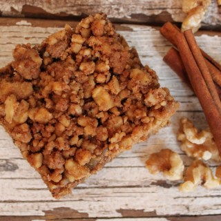 Have your coffee cake and your crumb topping too!