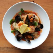Cioppino: the real San Francisco treat, if you ask me.