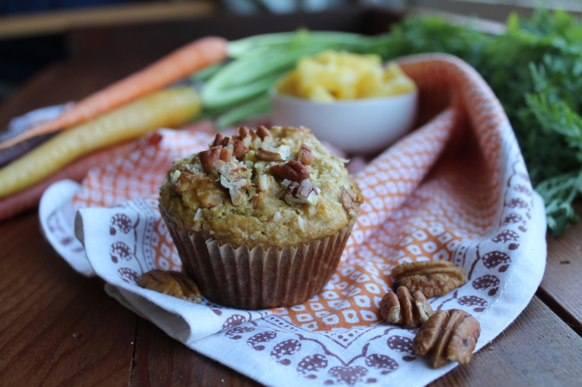 Tropical Breakfast Muffins