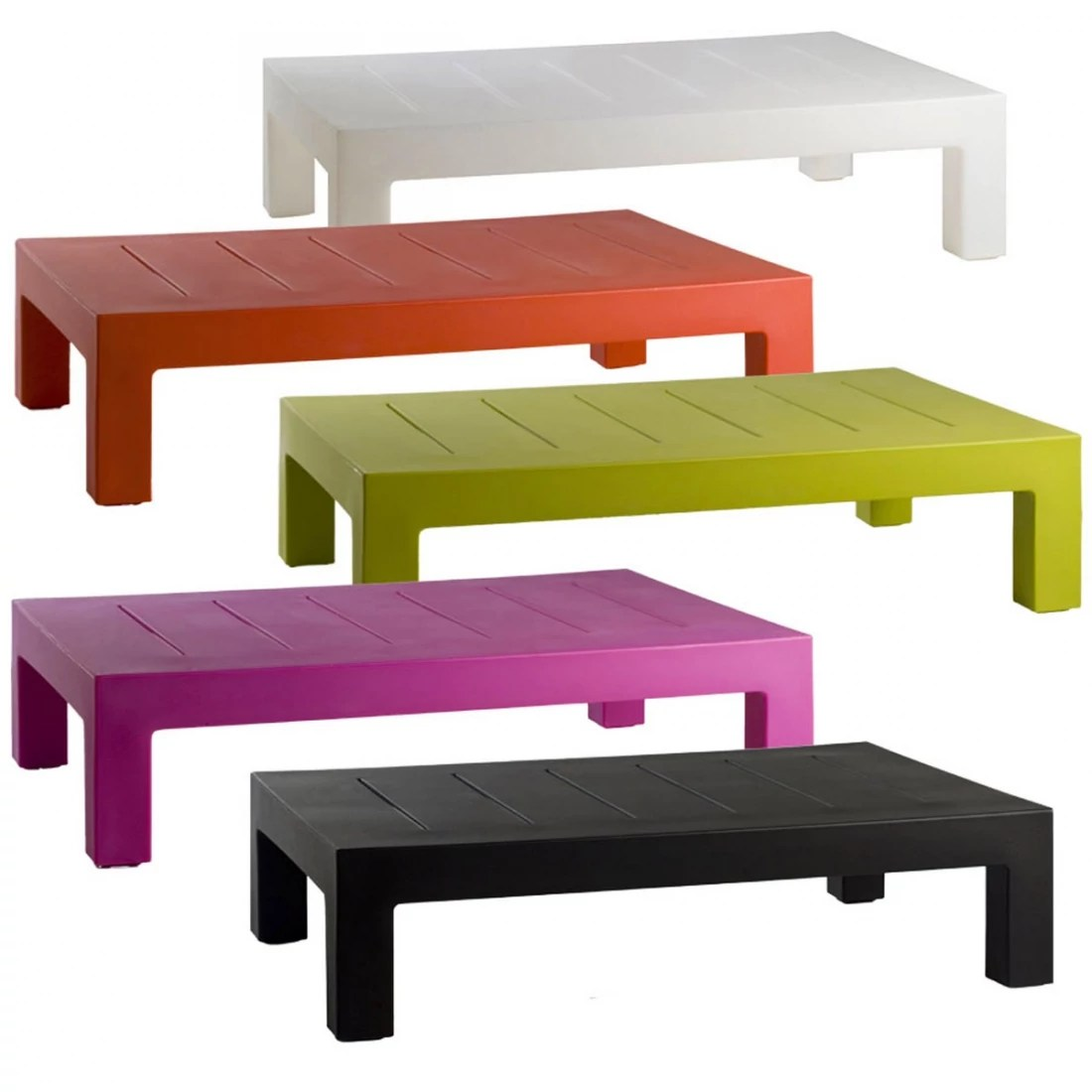 Table Basse Jardin Table Basse Design Dextérieur Jut Par Vondom