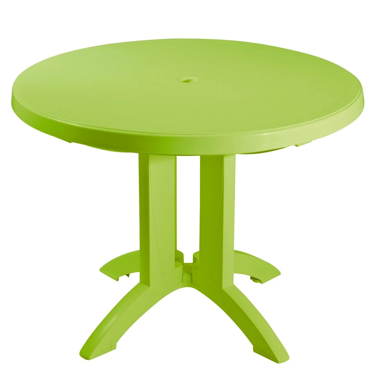 Table Jardin Ronde Table Ronde De Jardin Vega Grosfillex