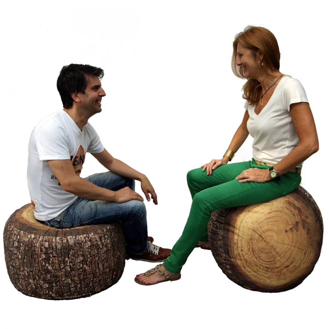Pouf Exterieur Made Gros Pouf Design D Extérieur Forest Stump Outdoor Merowings