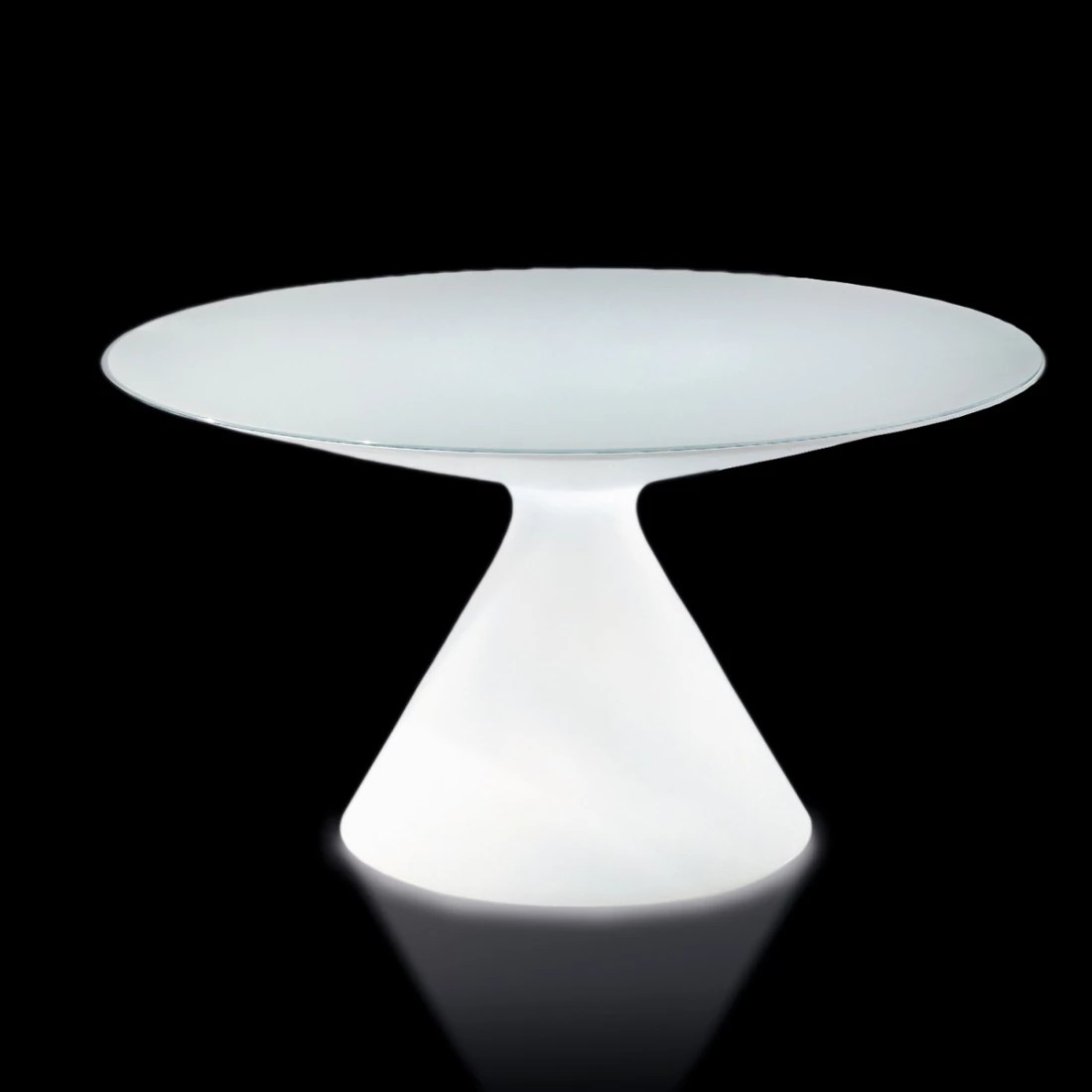 Table Ovale Tulipe Awesome Table Pied Tulipe Ed Lumineuse Slide With Table