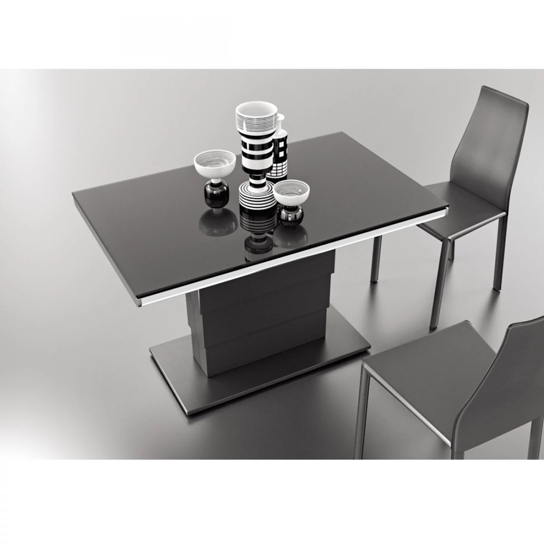 Table Jardin Modulable Table Modulable Design Ares Glass Zendart Design