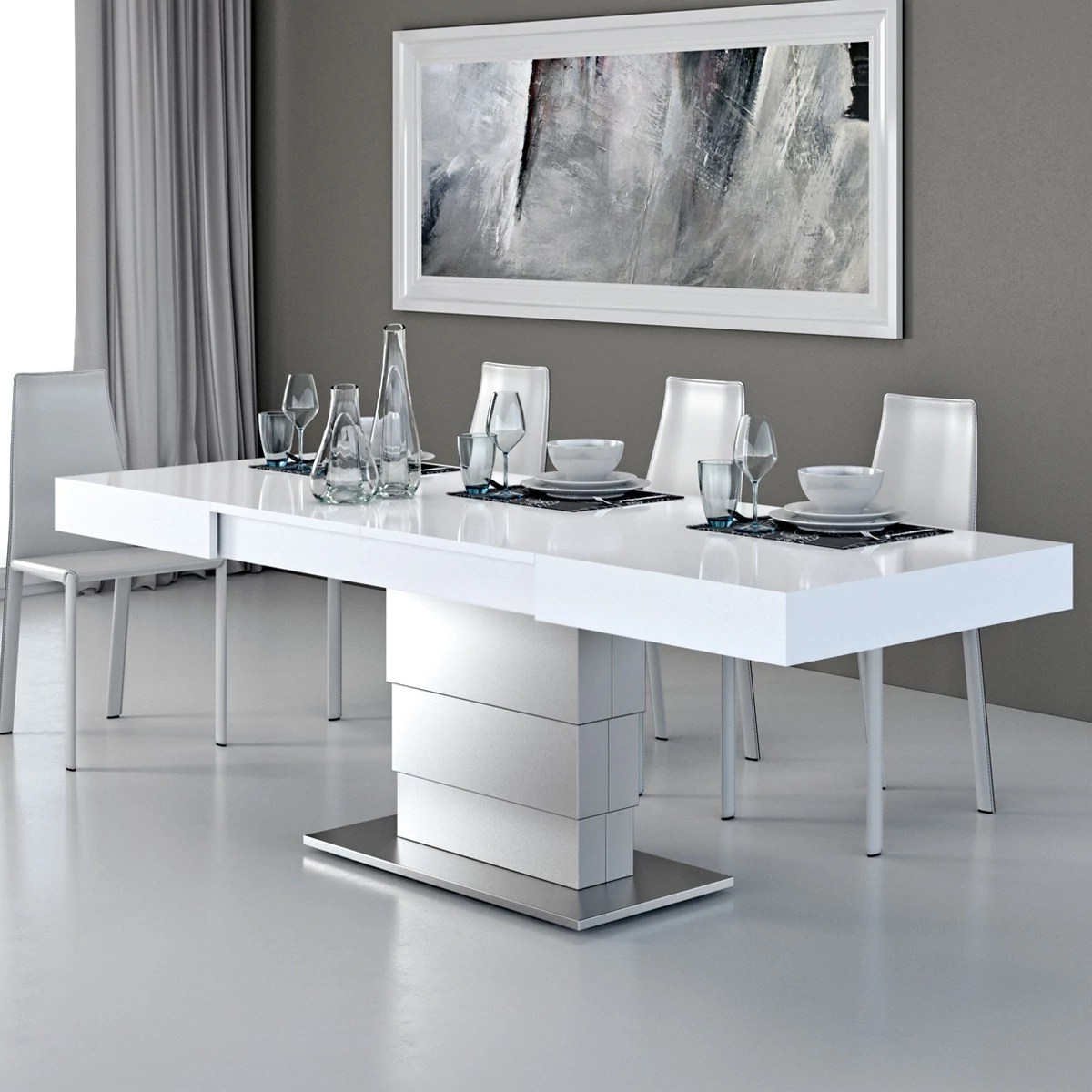 Table Basse Qui Se Transforme En Table Haute Table Basse Modulable Ares Fold Inox Zendart Design