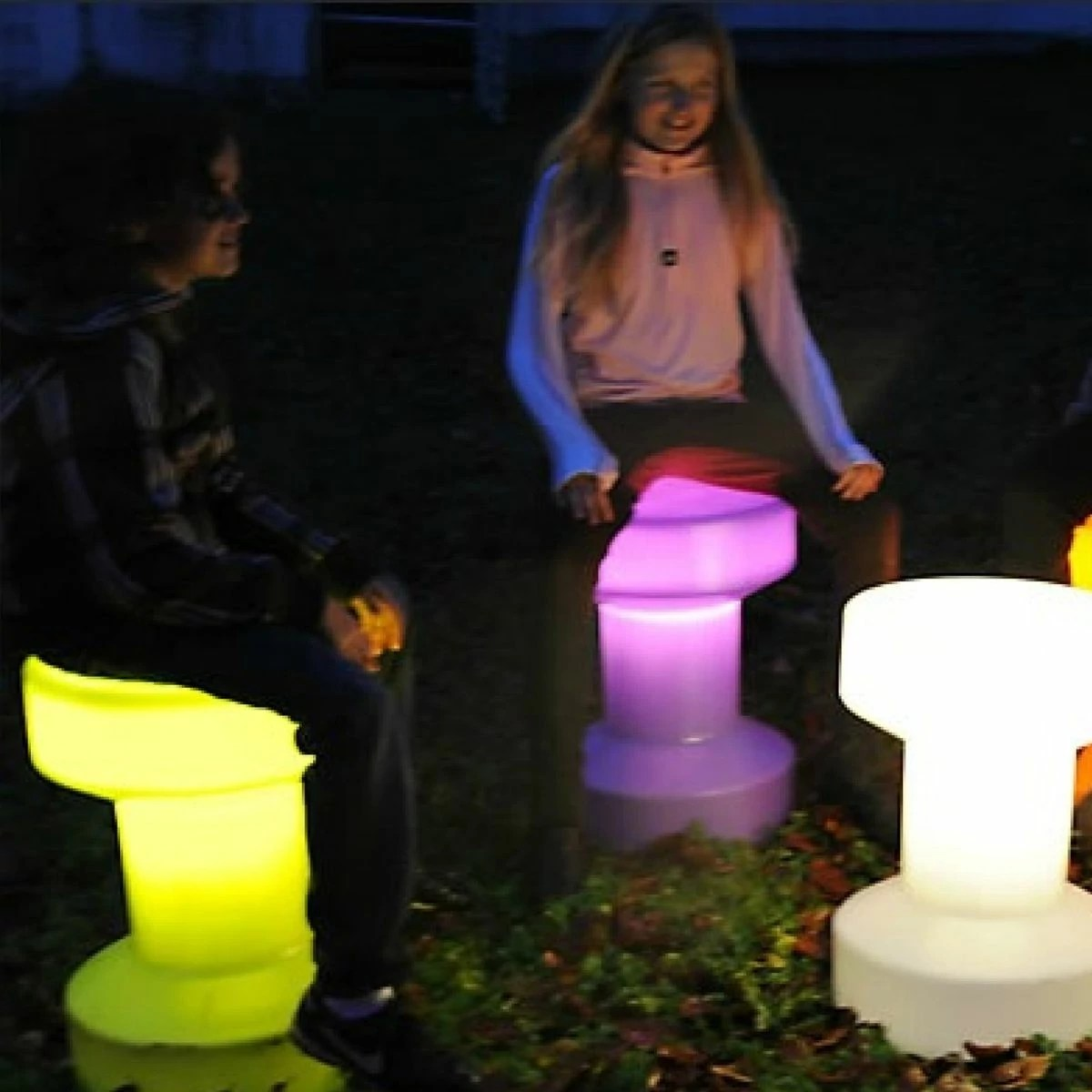 Tabourets Lumineux Tabouret Lumineux Bloom Zendart Design