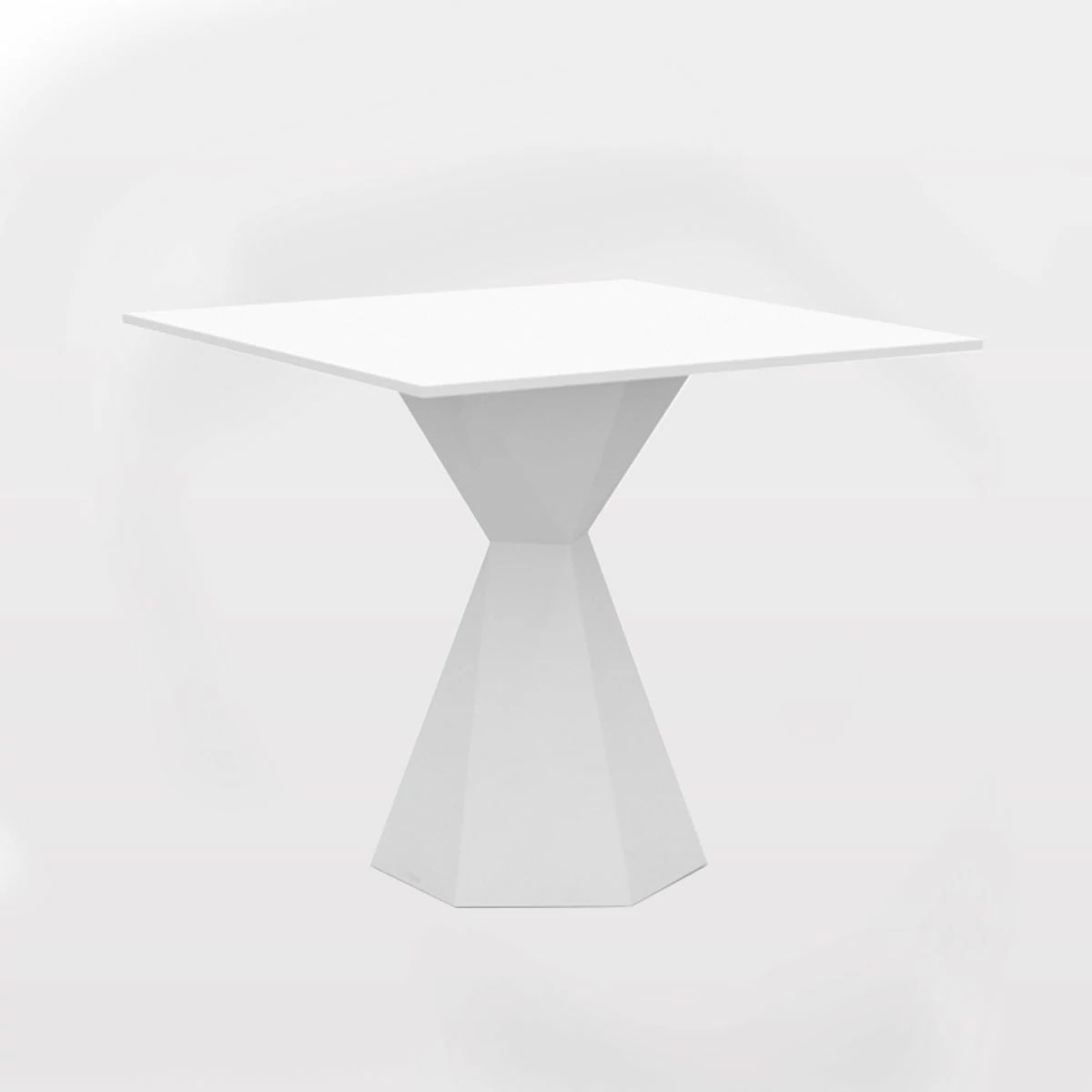Table Carre Exterieur Table Carrée Design Salon And Jardin Vertex Vondom Zendart
