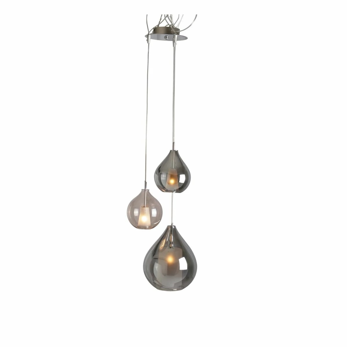 Luminaire Suspension Luminaire Suspension Circé 3 Concept Verre