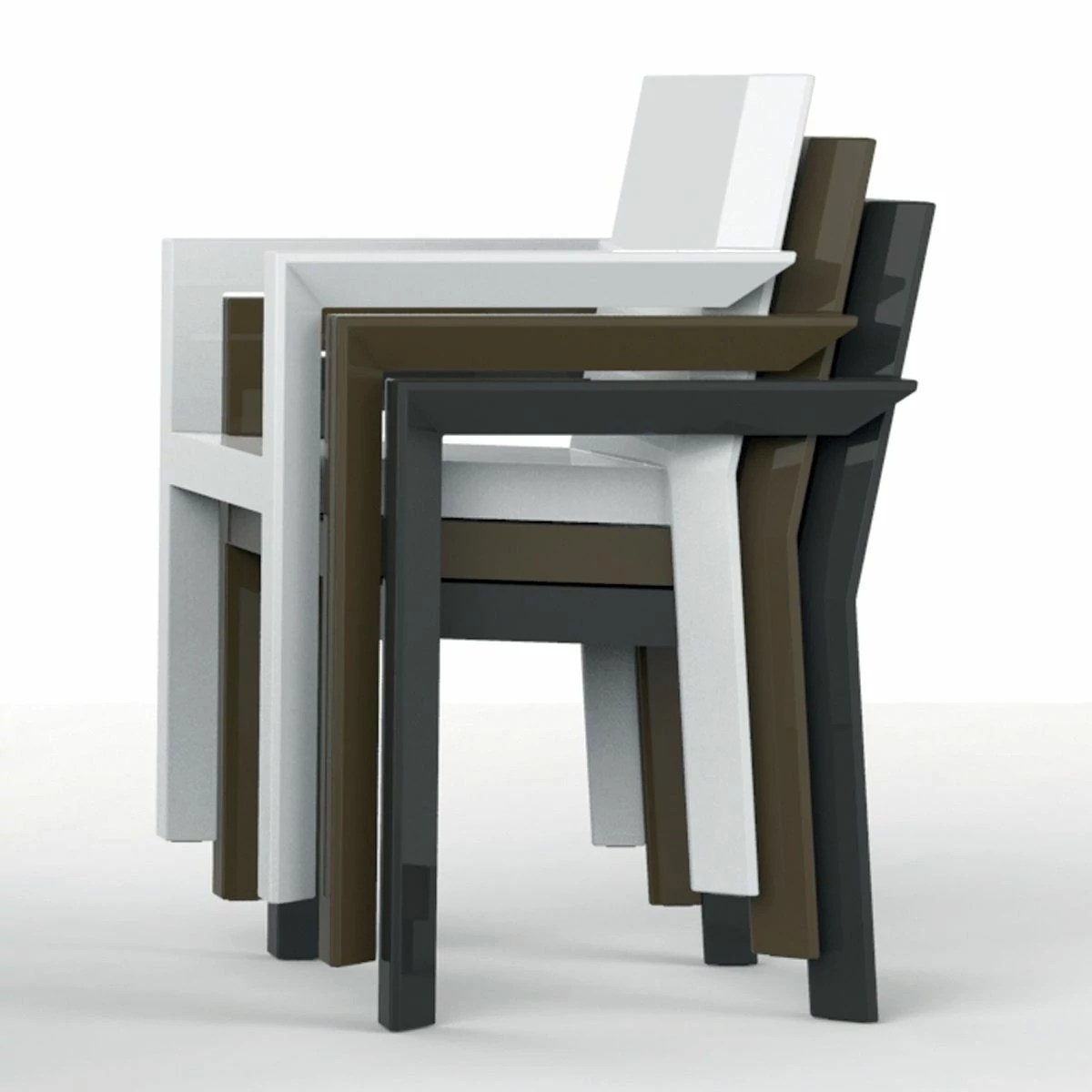 Fauteuils Table Fauteuil De Table Design Frame Vondom Zendart Design