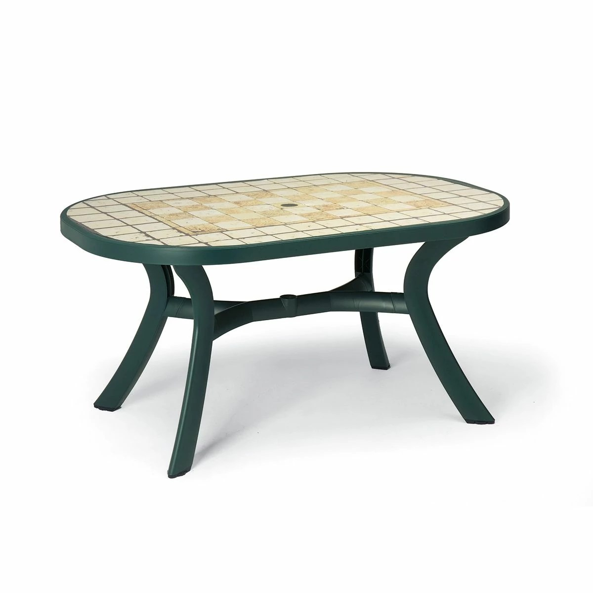 Table Jardin Ovale Table De Jardin Plastique Toscana Ovale Zendart Design