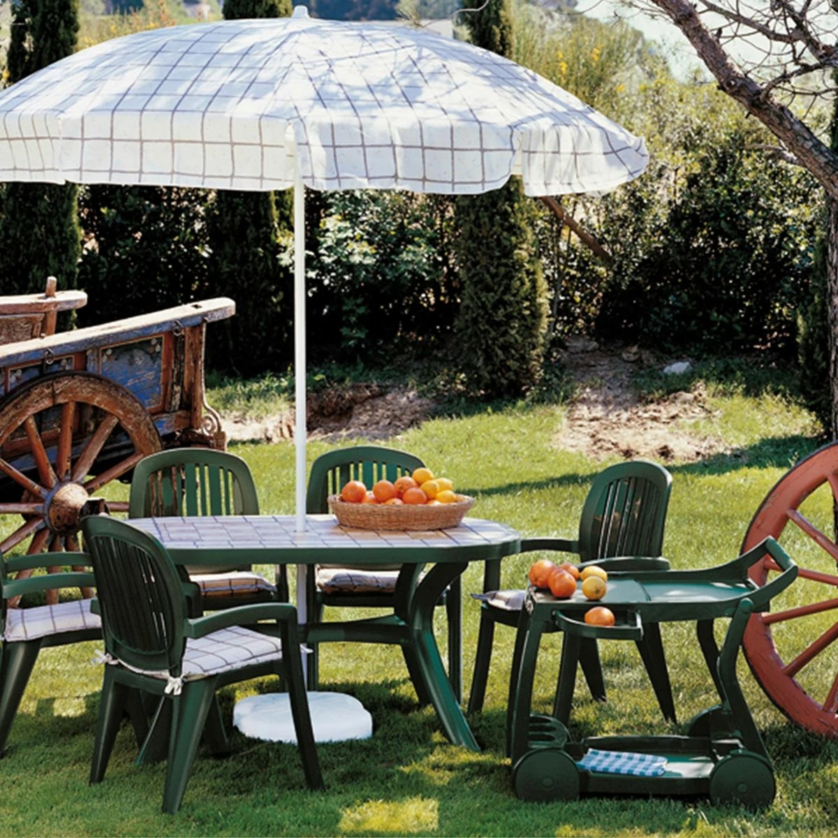 Table Roulante De Jardin Table Roulante Jardin And Terrasse Nardi Galileo Zendart