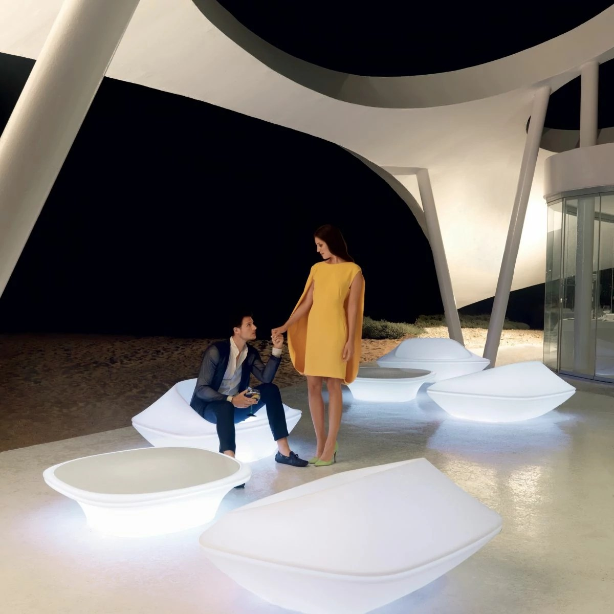 Mobilier Exterieur Original Fauteuil Original And Design Led Ufo Vondom Zendart Design