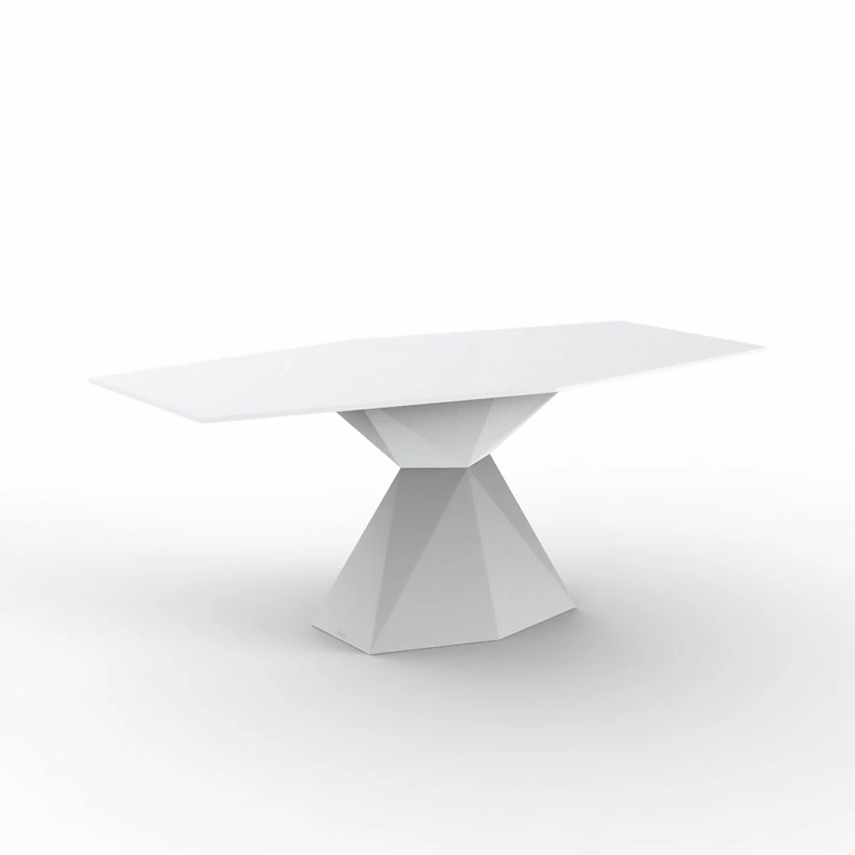 Table A Manger Exterieur Table à Manger Plateau Verre Vertex Vondom Zendart Design